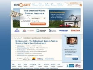 image is a picture of netquote website